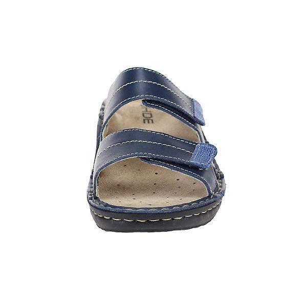 ROHDE, Pantoletten, beliebte blau  Gute Qualität beliebte Pantoletten, Schuhe f06715