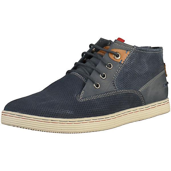 s s Oliver High Sneakers Oliver dunkelblau rB0q8BOwx