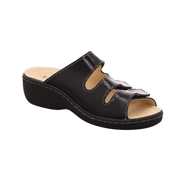 Longo, Pantoletten, Pantoletten, Pantoletten, schwarz  Gute Qualität beliebte Schuhe 78c7be