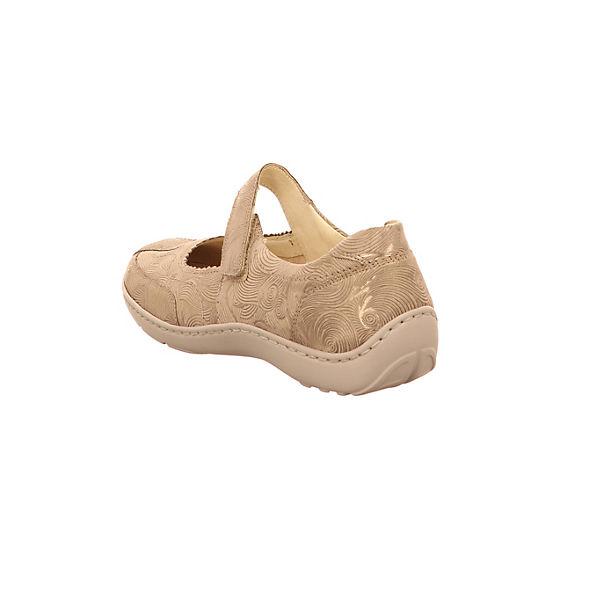 WALDLÄUFER Klassische Slipper beige  Gute Qualität beliebte Schuhe