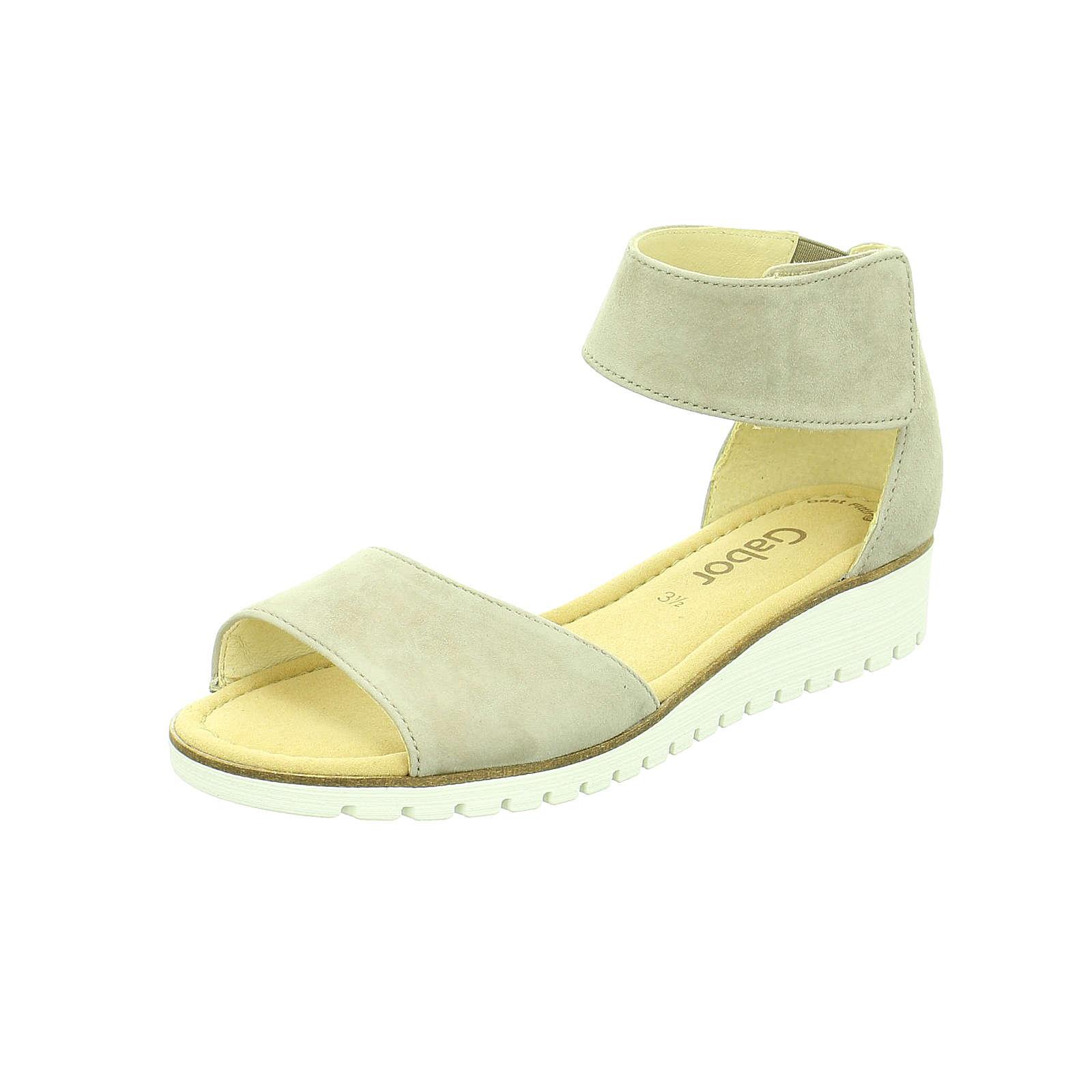 Gabor Klassische Sandaletten beige Damen Gr. 40