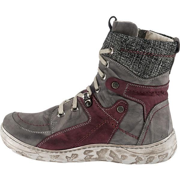 Krisbut, Winterstiefeletten, grau/lila  Gute Schuhe Qualität beliebte Schuhe Gute 28b021