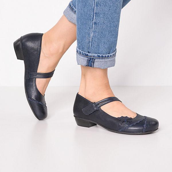 Brako Bem Riemchenballerinas dunkelblau  Gute Qualität beliebte Schuhe