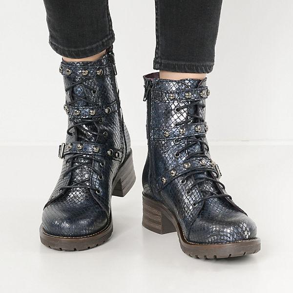 Brako Military Schnürstiefeletten dunkelblau  Gute Qualität beliebte Schuhe