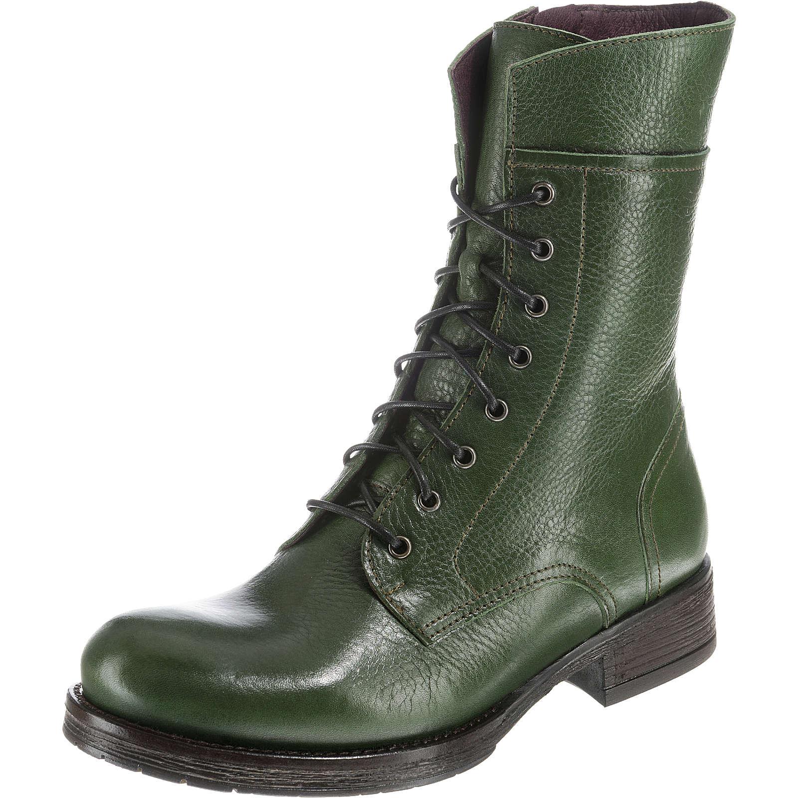 grüne Stiefel