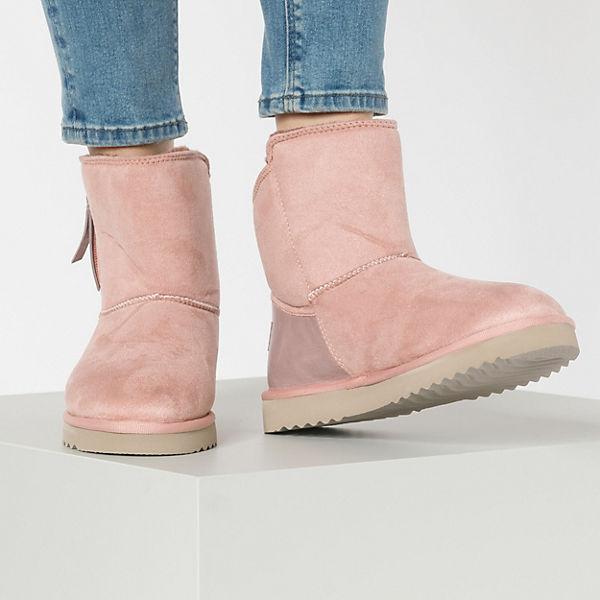 ESPRIT, Uma Zip Bootie Winterstiefeletten, rosa  Gute Qualität beliebte Schuhe