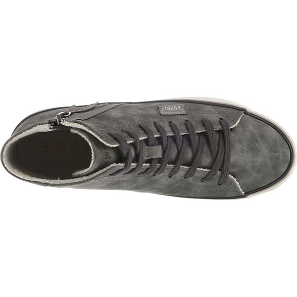 Bootie High ESPRIT Sneakers grau Venus Pw5xOqB