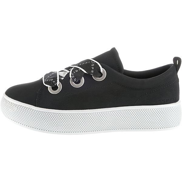 ESPRIT, Barbie LU Qualität Sneakers Low, schwarz  Gute Qualität LU beliebte Schuhe af2e96