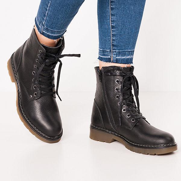 JOLANA  & FENENA, Biker Boots, schwarz  JOLANA Gute Qualität beliebte Schuhe f3b45b