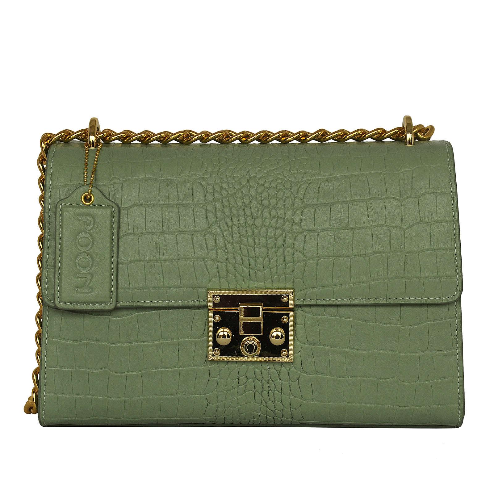 POON Switzerland Handtaschen grün Damen