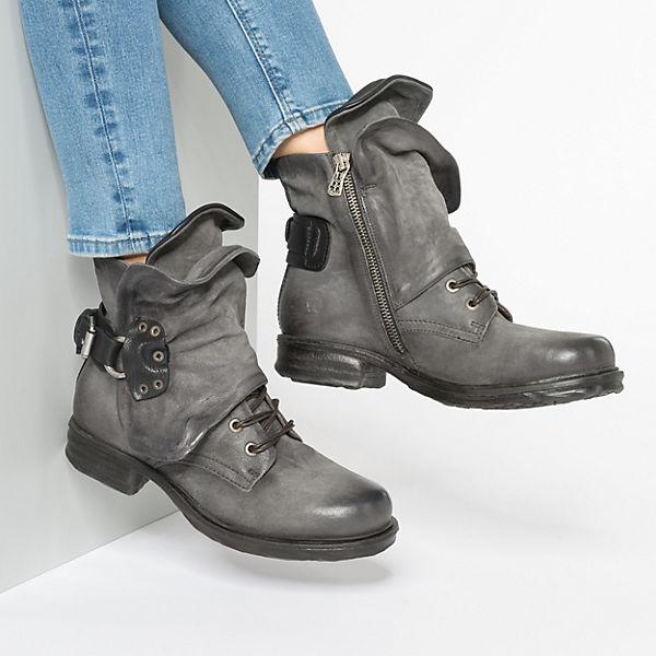A.S.98, Klassische Stiefeletten, grau  Gute Qualität beliebte Schuhe