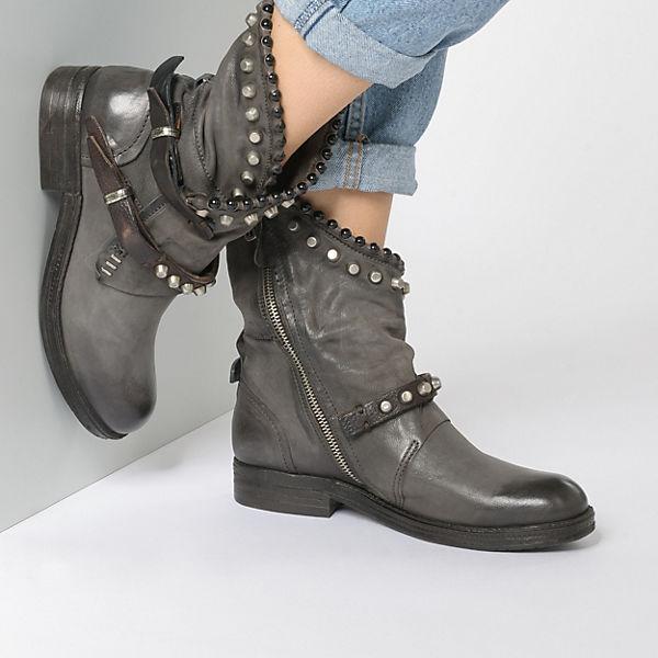 A.S.98 Klassische Stiefeletten grau    Gute Qualität beliebte Schuhe 5a6936