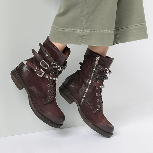 A.S.98 Klassische Stiefeletten bordeaux  Gute Qualität beliebte Schuhe