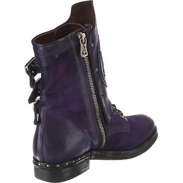 A.S.98 Schnürstiefeletten Schnürstiefeletten Schnürstiefeletten violett  Gute Qualität beliebte Schuhe 2543d3
