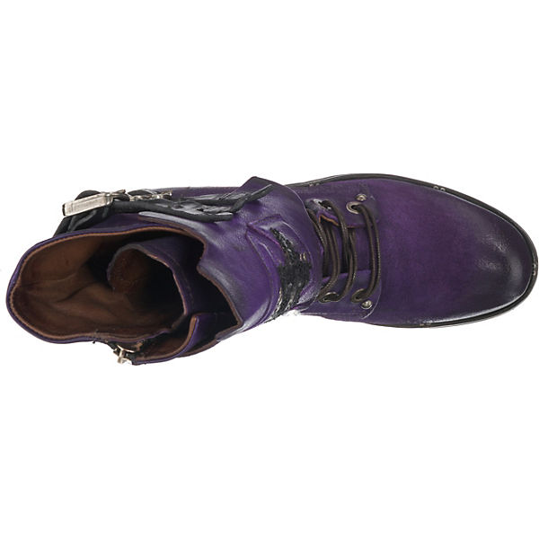 A.S.98, Schnürstiefeletten, violett  Gute Qualität Qualität Gute beliebte Schuhe c40764