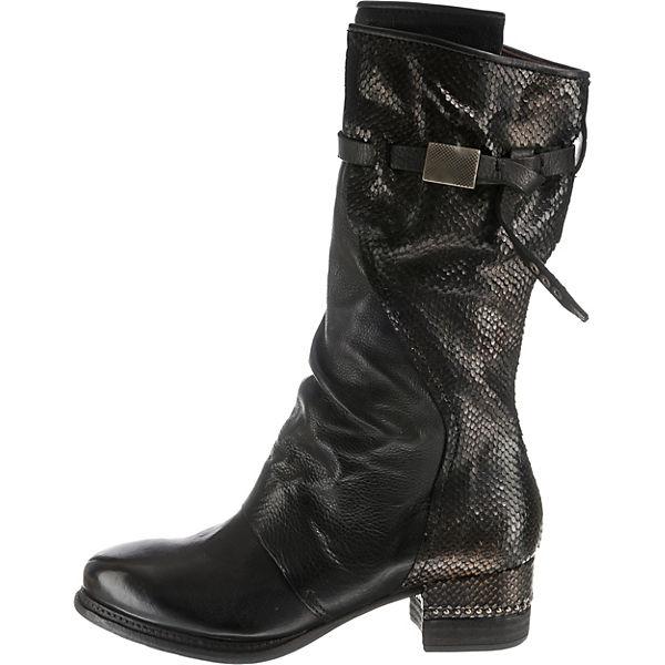 A.S.98, Klassische Stiefel, Stiefel, Klassische schwarz   ba1f01