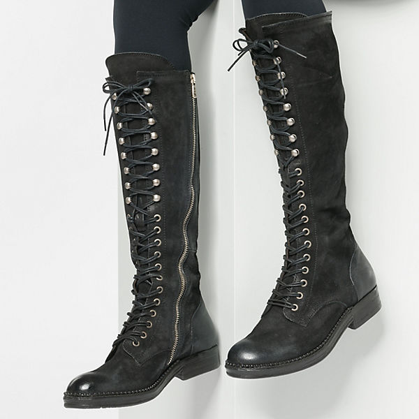 S Stiefel Klassische A schwarz 98 TxP7B