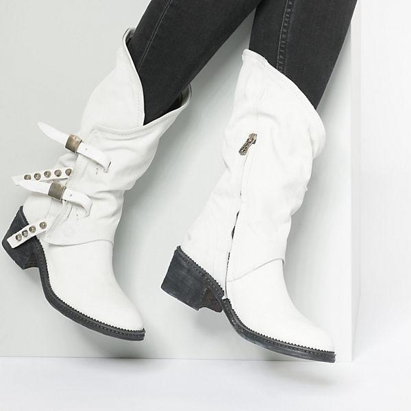 A.S.98, Klassische Stiefeletten, weiß weiß Stiefeletten,   b9d8c5