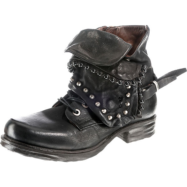 Klassische schwarz Stiefeletten S A 98 qYgBBO