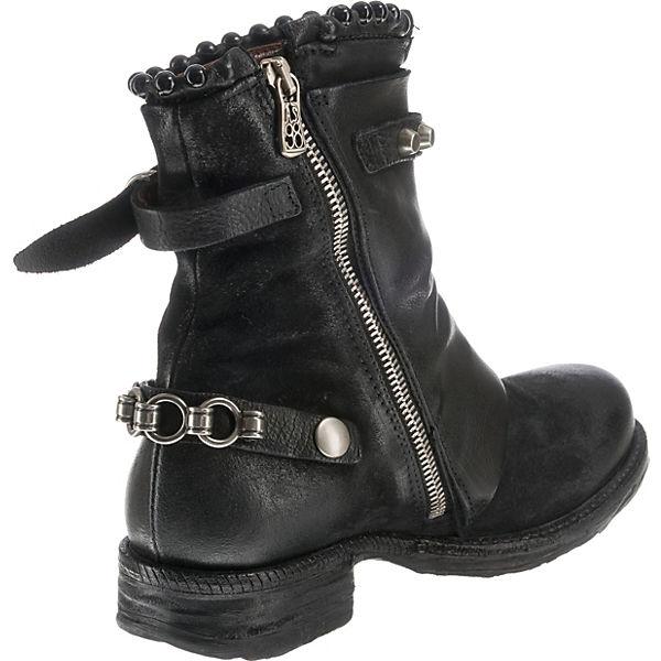Klassische A S schwarz 98 Stiefeletten 811rE