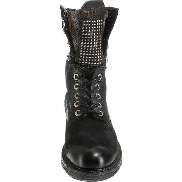 Klassische schwarz S A 98 Stiefeletten zw4Expq