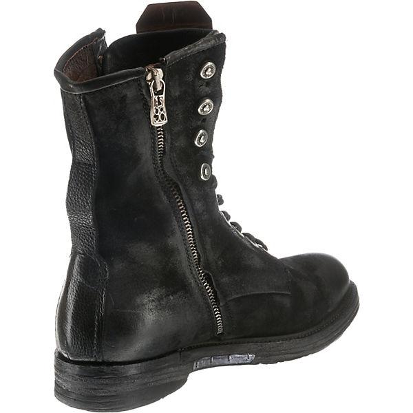 98 Klassische schwarz S A Stiefeletten 5OwYqxE