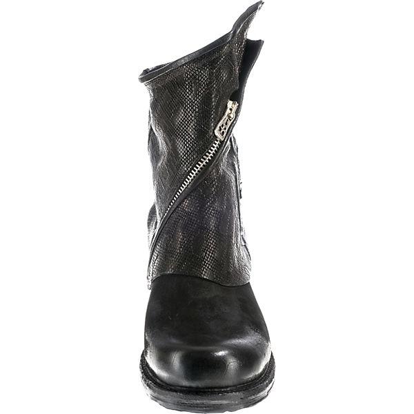 A.S.98, Klassische Stiefeletten, schwarz schwarz Stiefeletten,   0aa442