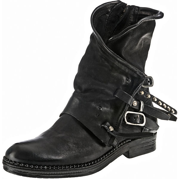 premium selection 421c6 8c124 A.S.98, Biker Boots, schwarz