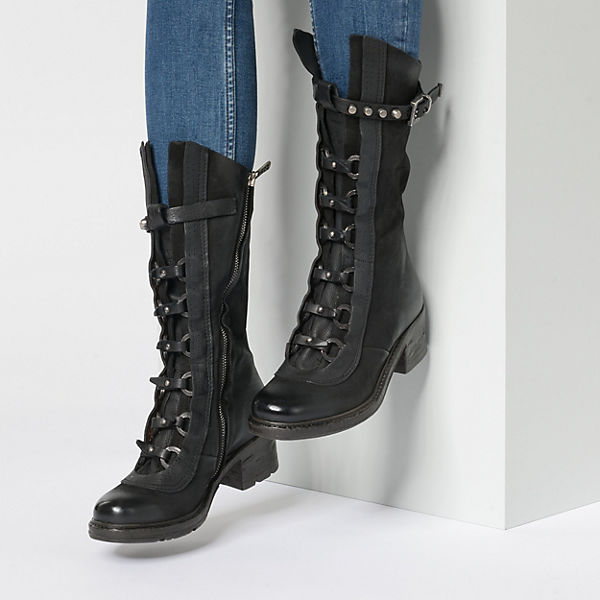 A 98 S Stiefel schwarz Klassische CCRAfHcqzw