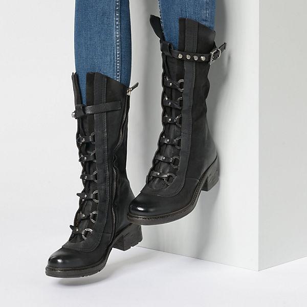98 S A Stiefel schwarz Klassische n6A1FAwqx0
