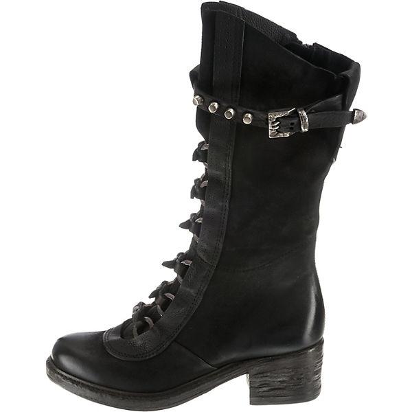 schwarz Stiefel 98 A Klassische S ITzYTxp