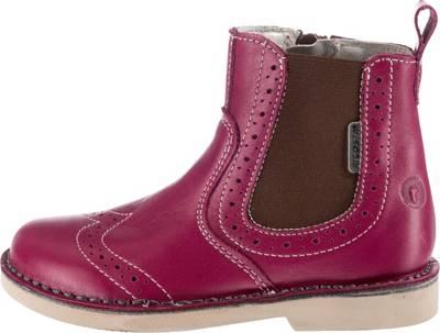RICOSTA, Chelsea Boots DALLAS, Weite M, für Mädchen, cognac