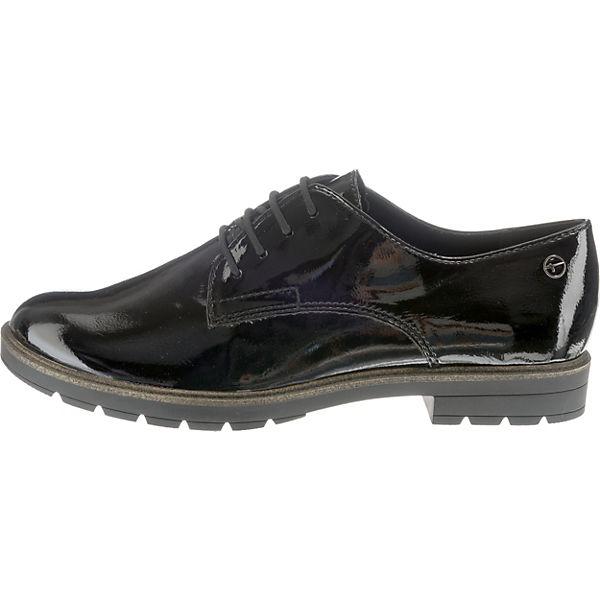 Tamaris Tamaris Tamaris Schnürschuhe schwarz  Gute Qualität beliebte Schuhe d215a7