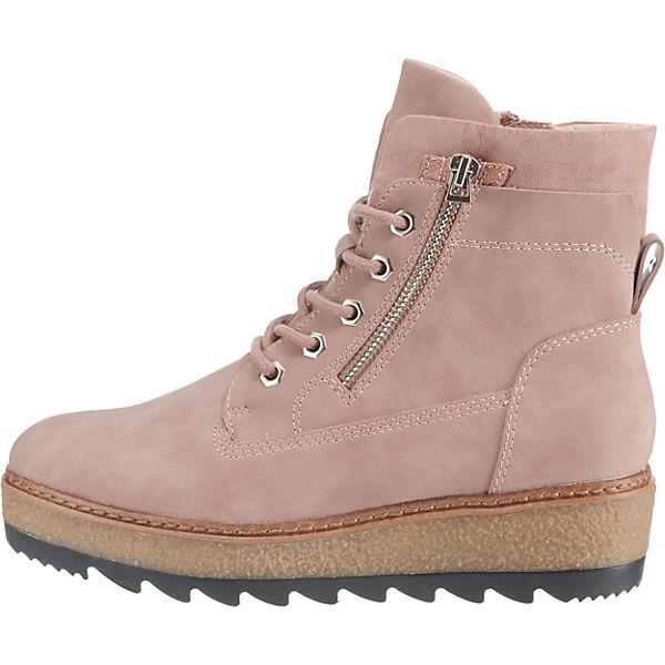 Tamaris, altrosa Plateau-Stiefeletten, altrosa Tamaris,  Gute Qualität beliebte Schuhe 66d790