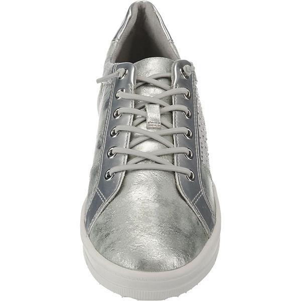 Tamaris, Sneakers Low, Low, Sneakers silber   e3ad81