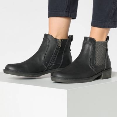 Beliebt Damen Schuhe Tamaris Chelseaboots jeans sportlich