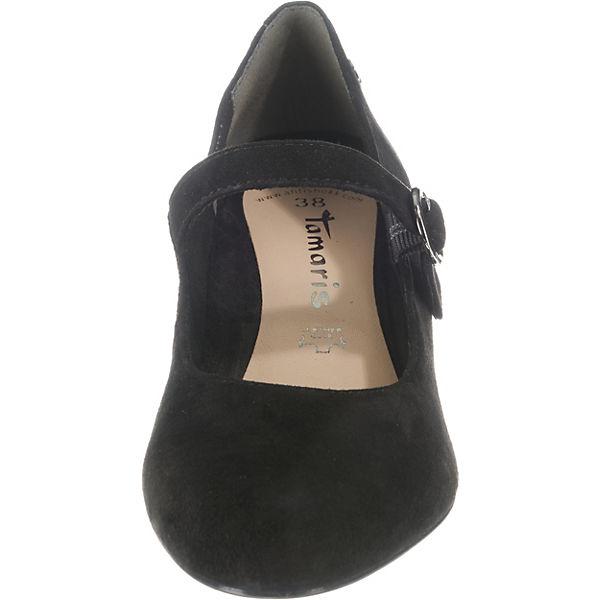 Tamaris,  Spangenpumps, schwarz  Tamaris, Gute Qualität beliebte Schuhe c441bf