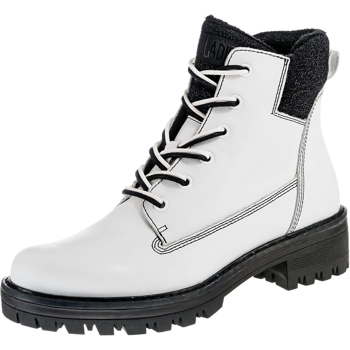 Tamaris, Biker Stiefel, weiß  Gute Qualität beliebte Schuhe