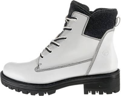 Tamaris, Biker Boots, weiß | mirapodo
