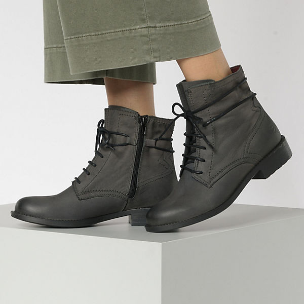 Tamaris, Schnürstiefeletten, anthrazit  Gute Qualität beliebte Schuhe