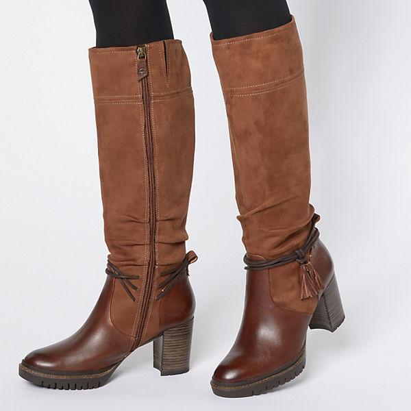 Tamaris, Klassische Gute Stiefel, cognac  Gute Klassische Qualität beliebte Schuhe 7a94fe
