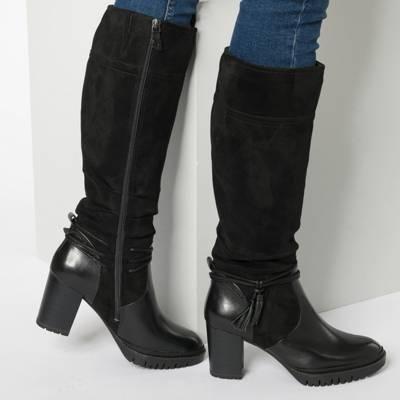 Tamaris, Klassische Stiefel, schwarz | mirapodo