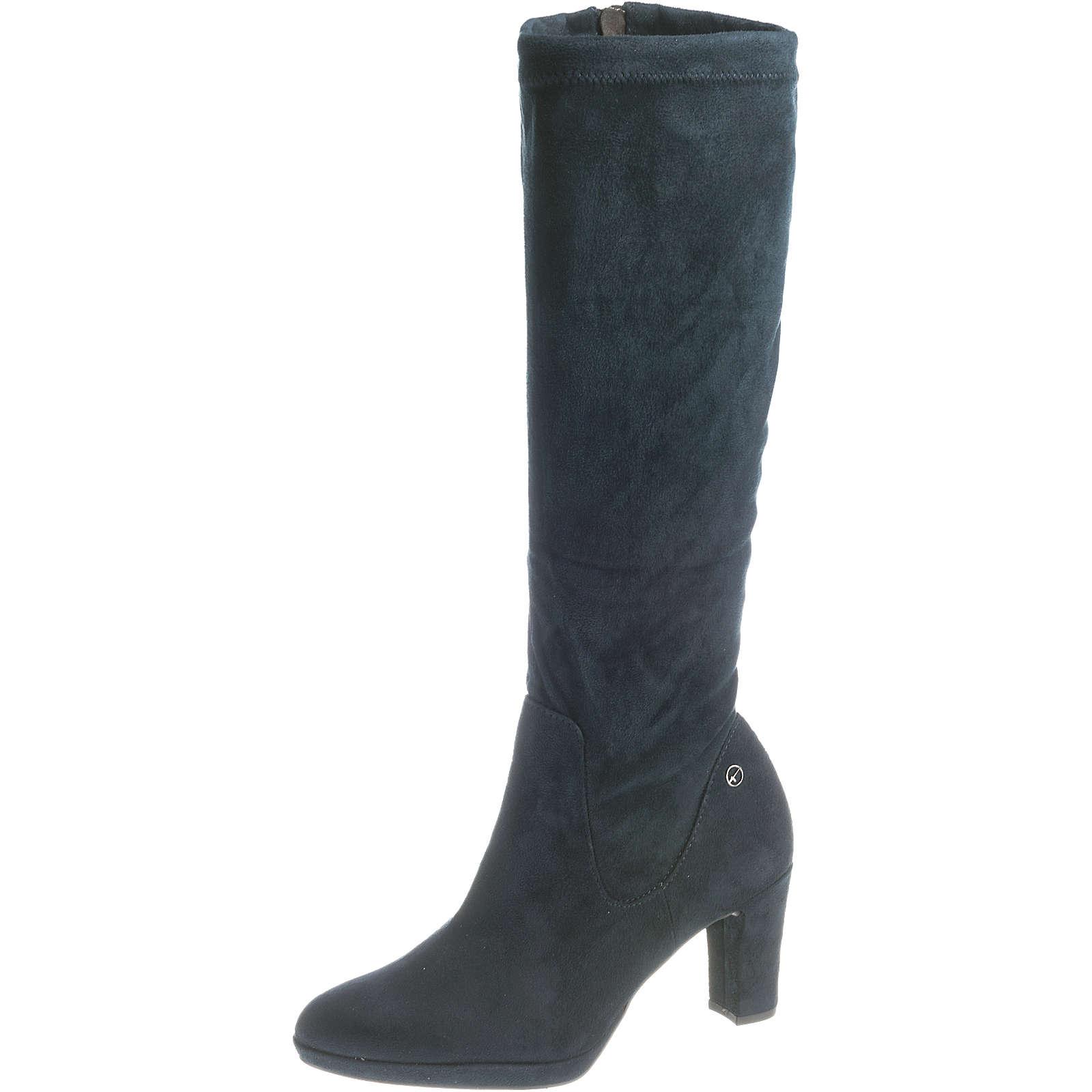 Tamaris Klassische Stiefel dunkelblau Damen Gr. 41