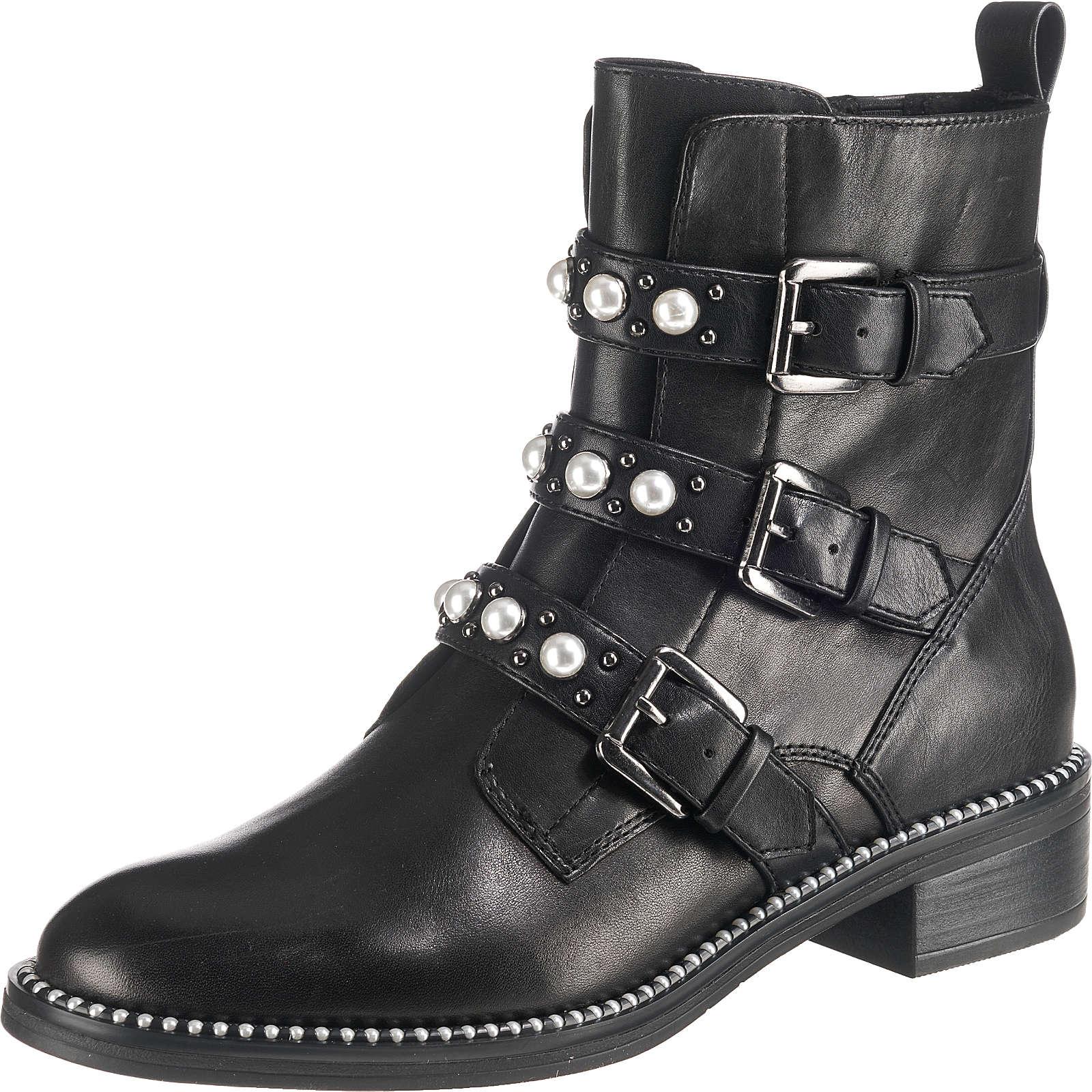 Tamaris Biker Boots schwarz Damen Gr. 37