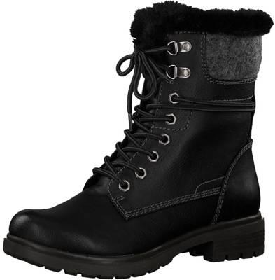Gute Winterstiefeletten, Tamaris, Qualität schwarz Schuhe