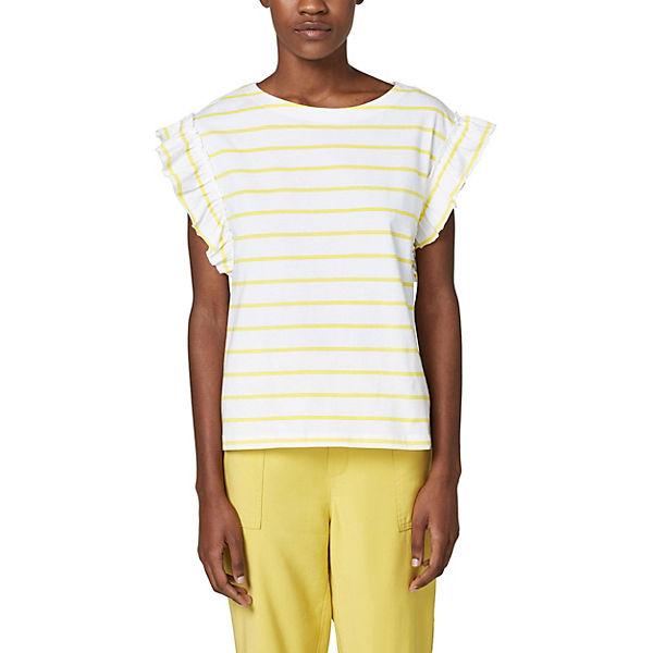 T ESPRIT ESPRIT Shirt T gelb zF8wHq