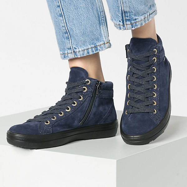 Legero, MIRA Schnürstiefeletten, blau  Gute Qualität beliebte Schuhe