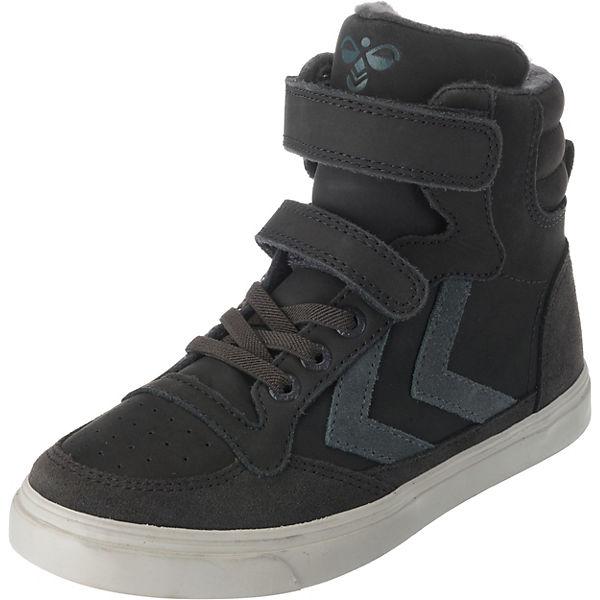 65d70904905 hummel, Kinder Sneakers High STADIL OILED, grau | mirapodo