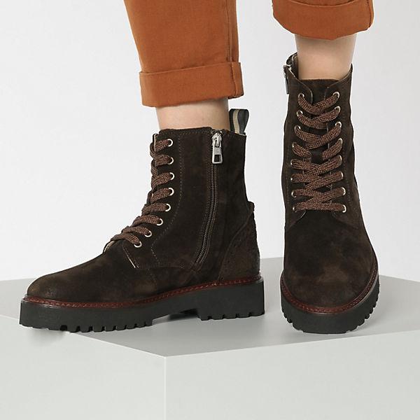 Marc O Polo, Schnürstiefeletten, dunkelbraun Gute Qualität beliebte Schuhe