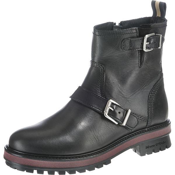 5d23fb71535f Marc O Polo, Biker Boots, schwarz   mirapodo